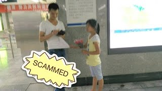 SCAMMED in China - Flower Girls
