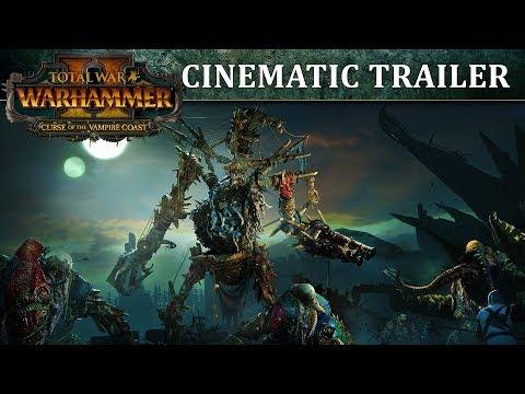 Total War: WARHAMMER 2 - Curse of the Vampire Coast Trailer thumbnail