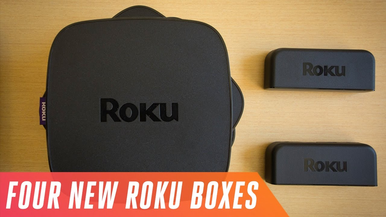 First look at Roku's four new streaming boxes thumbnail
