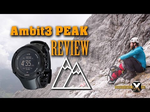 Suunto Ambit3 PEAK gps uhr Review + Fazit