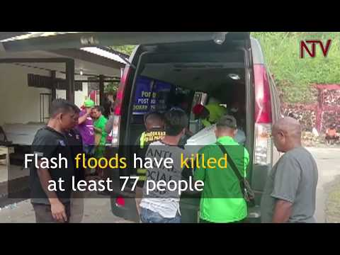 Flash floods kill at least 77 in Indonesia's Papua province