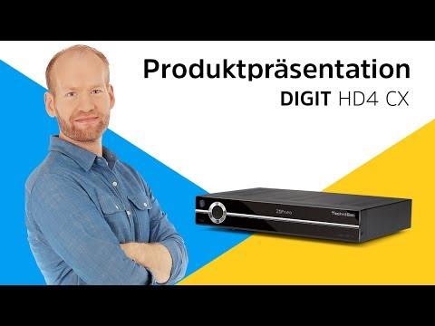 DIGIT HD4 CX | Produktpräsentation | TechniSat