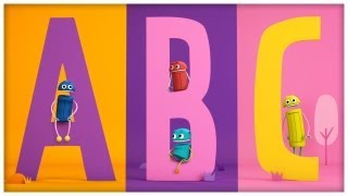 """The ABC Song"" Classic Songs by StoryBots"