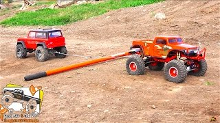 RC ADVENTURES - TUG OF WAR - 14 Trucks, Power Pulling - POKER RALLY TTC 2016 - PT 2