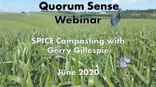 SPICE Composting & 'Changing our concept of waste' - Webinar with Gerry Gillespie