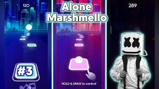 Alone Marshmello - Tiles EDM Hop Music - BeastSentry