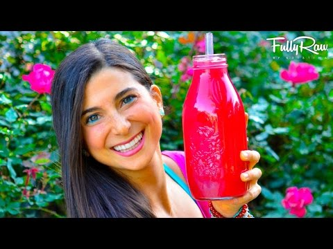 Video FullyRaw Juice for Clear Skin & Abundant Energy!