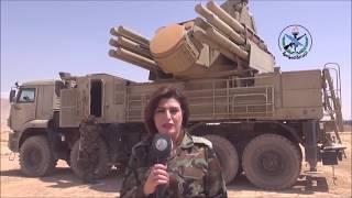 ПМ «Стрелец». Дамаск показал комплексы ПВО отразившие воздушную агрессию.