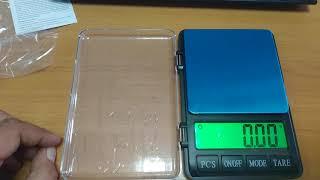 Ювелирные весы до 1 кг. (0.01) от компании Группа Интернет-Магазинов GiX - видео