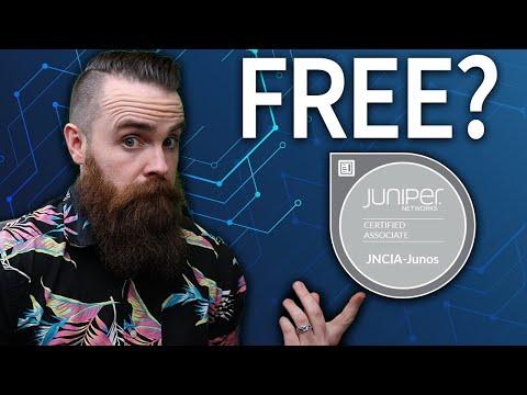 Juniper certifications are FREE?? (CCNA alternative) - YouTube