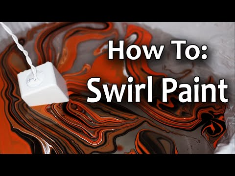 How to Swirl Paint Tutorial