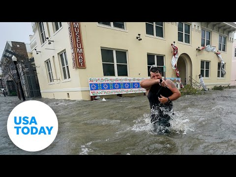 Hurricane Sally floods downtown Pensacola, Florida | USA TODAY