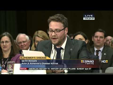 Seth Rogen o Alzheimerově chorobě