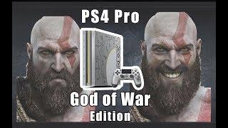 НОВАЯ ЛИМИТИРОВАННАЯ PS4 Pro GOD OF WAR