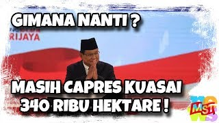 Pe(ca)tan Militer Saja Sudah Kuasai Tanah 340.000 ha, Apalagi Prabowo Jadi Presiden!
