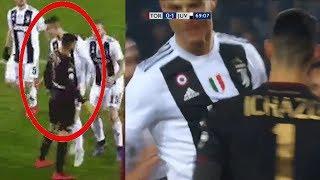 РОНАЛДУ забил гол, но толкнул вратаря! Что это было???? Торино - Ювентус