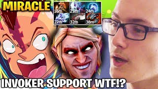 Miracle Anti Mage Farming Machine with Invoker Supporter WTF IS THIS ???
