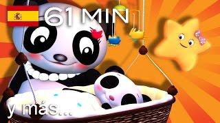 Duérmete, niño   Y muchas más canciones infantiles   ¡61 min de LittleBabyBum!