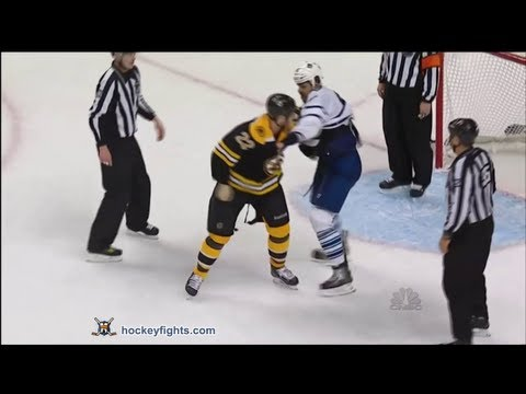 Mark Fraser vs Shawn Thornton