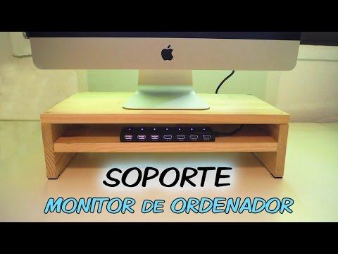 SOPORTE para MONITOR de Ordenador con USB / Base Stand PC