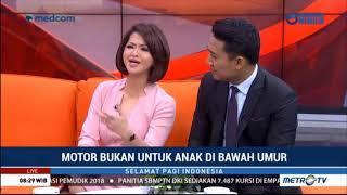 Novita Tandry Live di Metro TV acara Selamat Pagi Indonesia topik Motor Bukan untuk Anak anak
