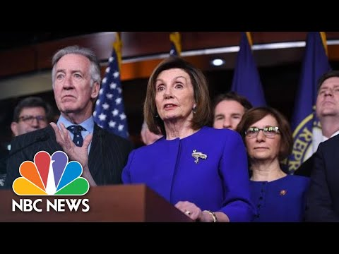 Nancy Pelosi: 'No Question' The USMCA Trade Deal Is 'Much Better Than NAFTA' | NBC News