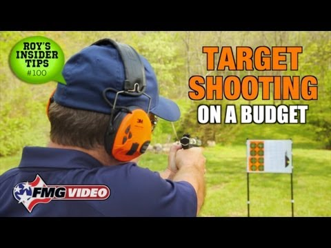 Target Shooting On A Budget