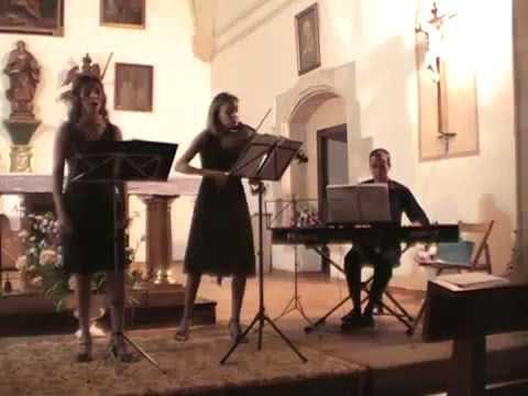 Trío de Cantante Soprano Lírica, Violín y Piano