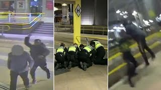 video: New Year's Eve knifeman sentenced to lifeafter admitting a terror offence