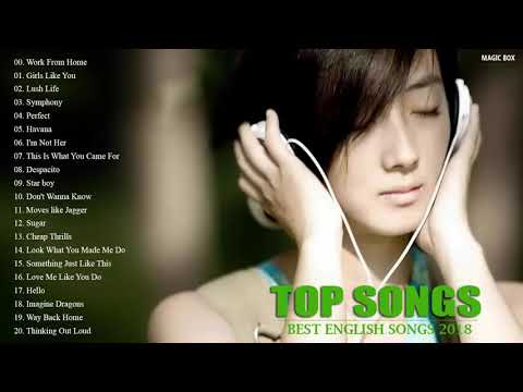 BEST ENGLISH SONGS 2018 HITS   Acoustic Popular Songs 2018   BEST POP SONGS WORLD COLLECTION   YouTu