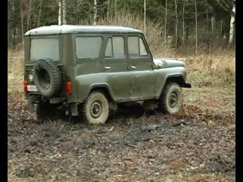 тест-драйв УАЗ 469. онлайн видео