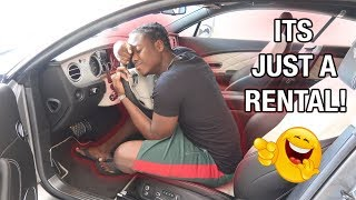 "Returning The ""Rented Bentley"" Prank"