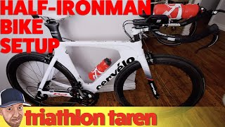 Half-Ironman 70.3 Triathlon Bike Setup