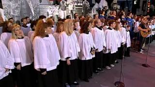 Willie Nelson and the Dallas Choir -- How Great Thou Art (Live at Farm Aid 1992)