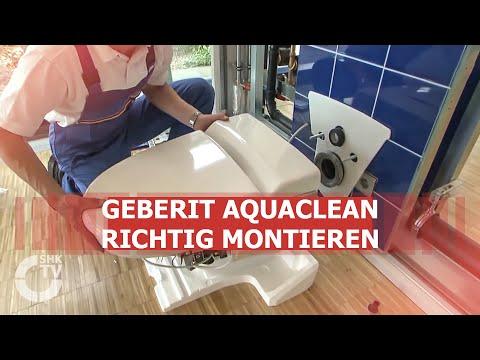 SHK-TVmagazin: Geberit-Schulung für AquaClean