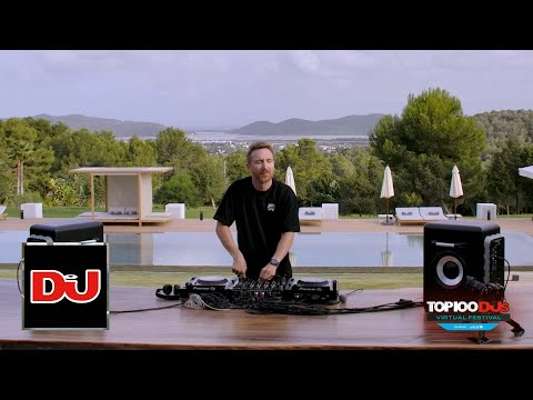 David Guetta DJ Set From The Top 100 DJs Virtual Festival 2020