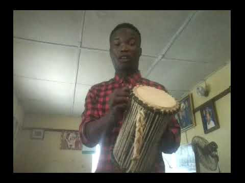 HOW TO PLAY TALKING DRUM FOR BEGINNER PART ONE