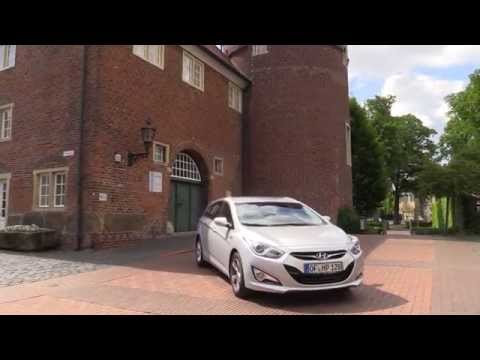 Hyundai i40 Tourer Kombi test drive review Hyundai Sonata - Autogefühl