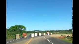 preview picture of video 'Llegando a Paraguarí, desvio hacia el El Cuartel del Ejército'