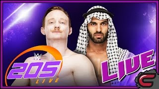 WWE 205 Live January 17th 2017 Full Show & Live Reactions