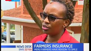 Maize farmers in Meru County happy with food insurance initiative