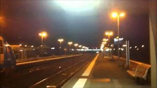preview picture of video 'Arrivee d'un Interloire en gare de Saint-Nazaire Dimanche 25 Décembre 2011'