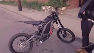 Luna Modded Sur-Ron MX Vs Zero Electric  Motorcycle