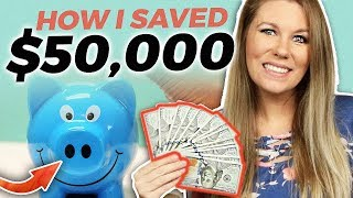 How I Saved $50,000 This Year - Minimalism + Frugal Living