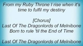 Domine - Last Of The Dragonlords Lyrics