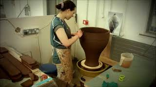 Claire Murdock -  Large Pots - Coil Throwing Method