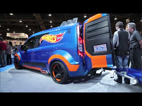 Ford Transit Connect Hot Wheels Concept - 2013 SEMA Show