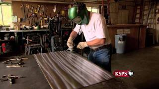 Northwest Profiles: Painting With Fire (metal Art)