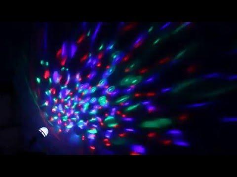 DBPOWER E27 RGB 3W 2 IN 1 Dekorative Leuchtmittel, Farbige Leuchtmittel, Bühnenbeleuchtung für Kinde