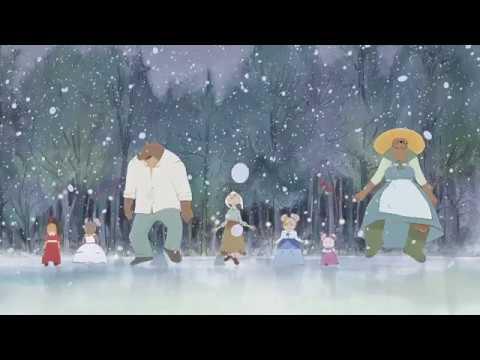 Ernest et Célestine en hiver Little KMBO